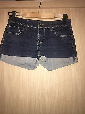 Topshop Moto Jean Shorts Size 8 Good Condition