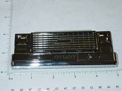 Nylint Chrome Plastic Chevy Truck Grill Replacement Toy Part