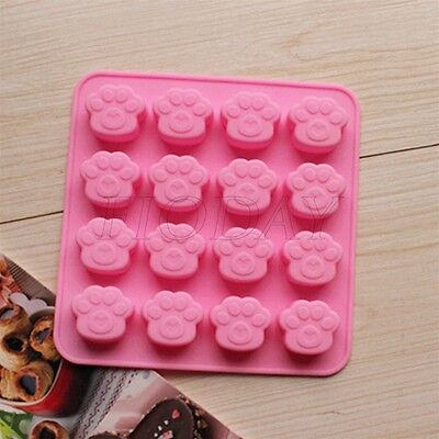 3D Silicone Ice Cube Candy Chocolate Cake Cookie Cupcake Soap Molds Mould
