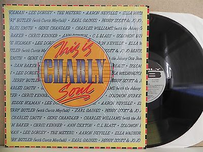 This Is Charly Soul- The Best of LP (1987 EX++) C.L. Blast/Meters/Ann Sexton 60s