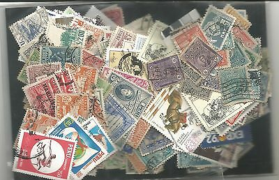 packet of stamps from PERU Used