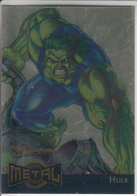 1995 Fleer Flair Marvel Annual Hulk Gold Blaster Limited Edition #5