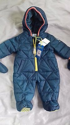 Baby Ted Baker Snowsuit All in one Coat BNWT RRP £38