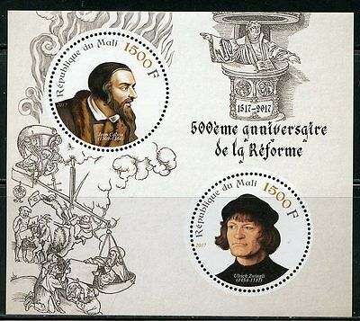MALI 2017 500th ANNIVERSARY OF THE REFORMATION SHEET MINT NH