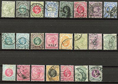 Natal  Lot Of Used Stamps As Shown