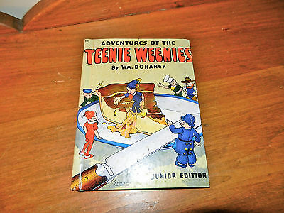 """1920 """"A ADVENTURES OF THE TEENIE WEENIES"""" by WM. DONAHEY CHILDRENS BOOK"""