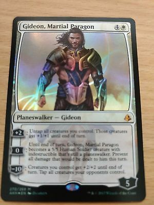 Magic The Gathering ( Mtg ) Gideon Martial Paragon  * Amonkhet Mythic Foil