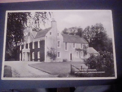 Scotland,Aberdeenshire,Muiresk House,by Turriff,Rp postcard.