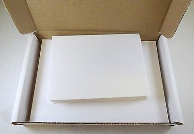 "5"" X 7"" Heavyweight Blank White Greeting Card Sets, 40 Cards & Envelopes"
