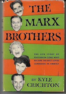 The Marx Brothers by Kyle Crichton 1950 1st Ed. Rare Vintage Book!