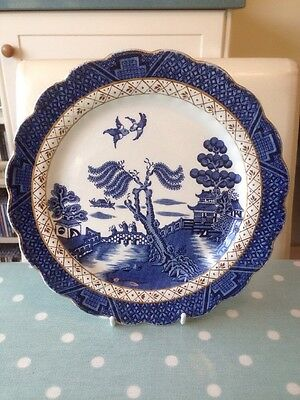 Vintage Booths Real Old Willow A8025 Dessert Plate 8.25 Inch.