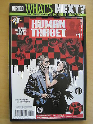 WHAT'S NEXT? Special Edition DC PREVIEW Series HUMAN TARGET 1 by MILLIGAN