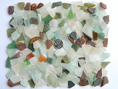 200 Grams Of English Sea Glass For Mosaic Art Ect