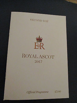 Royal Ascot Racecard Second Day 2017. ( MINT )