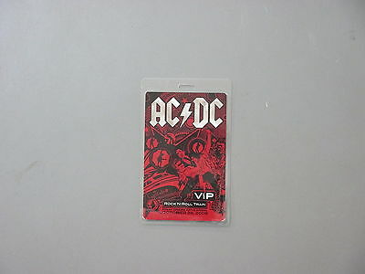 AC/DC backstage pass Laminated Authentic Rock n' Roll Train 2006 !