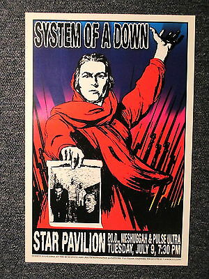 System Of A Down Concert Poster Philadelphia July 9th ORIGINAL !
