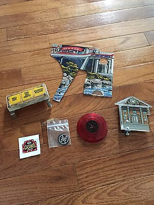 Data East BTTF Back To The Future Pinball Machine Plastic parts