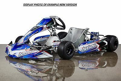 Arrow Go Kart complete, low hours, with spares JUNIOR SPROCKET Ready- A must see