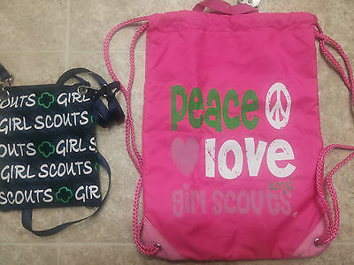 Girl Scouts purse and backpack NEW