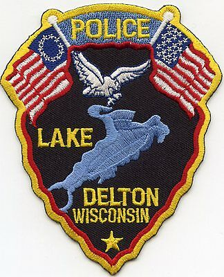 Lake Delton Wisconsin Wi Police Patch
