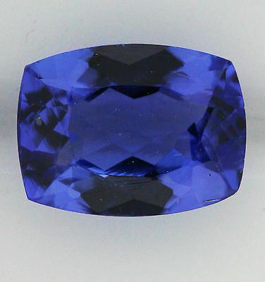 6.51ct!! NATURAL TANZANITE EXPERTLY FACETED IN GERMANY +CERTIFICATE INCLUDED