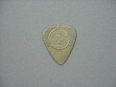 The Cult guitar pick for Billy Duffy 2011 gold Herco pick