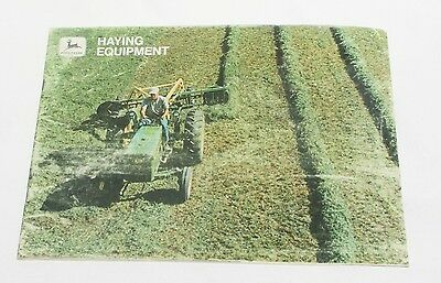 1960's John Deere Haying Equipment 47 Page Color Brochure