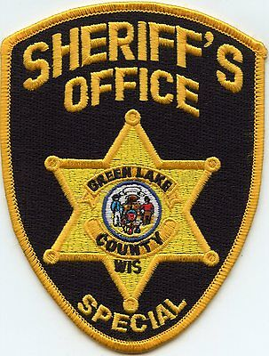 Green Lake County Wisconsin Wi Special Sheriff Police Patch