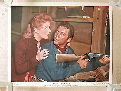 Greer Garson and Cameron Mitchell original color photo 1955 Strange Lady in Town