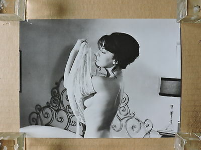 Lisa Gastoni undressing original busty portrait photo 1968 Grazie zia