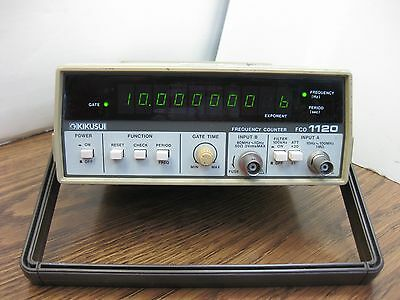 Kikusui FCO 1120 Frequency Counter 10Hz to 1GHz