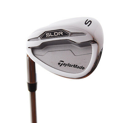 New TaylorMade SLDR Sand Wedge LEFT HANDED w/ FST Steel Shaft