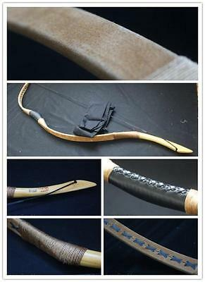 40lb Ali Bow Handmade Hungarian Pigskin Longbow  Archery Hunting Recurve Bow