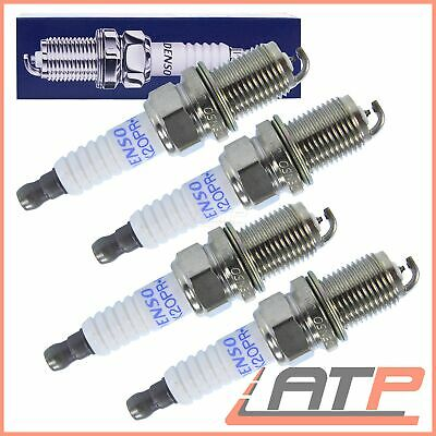 Denso Pk20Pr-P8 Ignition Spark Plug Set 4 Pieces Platinum