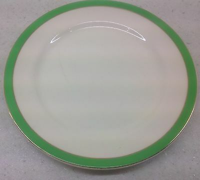 Queens Green Solian Ware From Simpsons Potters Ltd Side Tea Plate
