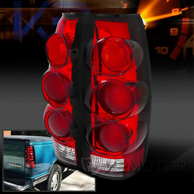 1988-1998 Chevy/GMC C10 CK Truck Red Lens 3D Tail Lamps Brake Lights