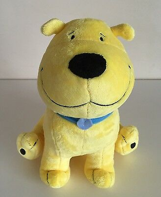 "Kohl's Cares T BONE Clifford Yellow Dog 2011 Stuffed Animal Plush 11"" Tall, EUC"