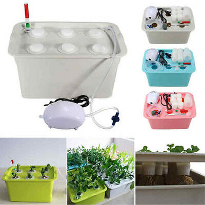 Indoor Cabinet Box Garden Plant Site Hydroponic System Grow Kit Bubble Boxes HOT