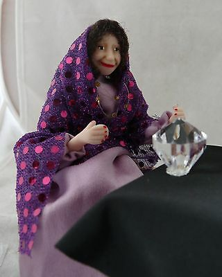 Dolls House Miniature Fortune Teller 1-12TH Scale