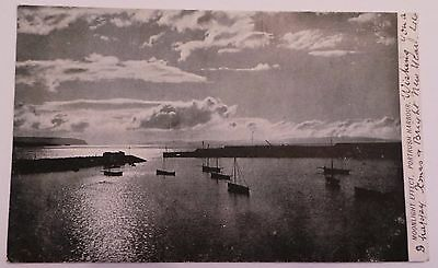 1905 Postcard - 'moonlight Effect, Portrush Harbour' - Co.londonderry - Posted