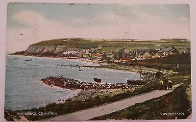 1910 Postcard  - 'whitehead'  - County Antrim - Posted