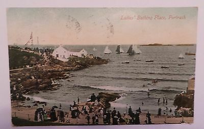 1911 Postcard - 'ladies Bathing Place, Portrush' - Co.londonderry - Posted