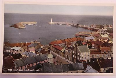 Vintage - 'the Harbour, Donaghadee'  - County Down - Unposted
