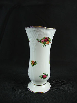 """Old County Roses"" Vase By Royal Albert 5.8"""