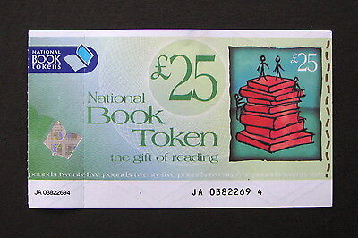 National Book Tokens £25 Voucher - W'stones, WH Smith etc NO EXPIRY DATE.
