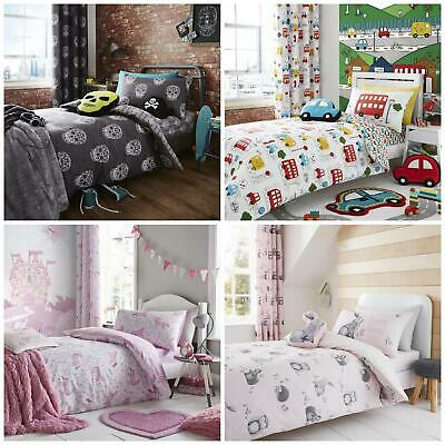 Catherine Lansfield Kids Duvet Cover Or Wall Hanging, Cushions, Curtains Or Rugs