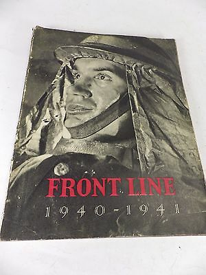 Vintage Paperback Book 'Front Line 1940-1941' - Civil Defence - 1942