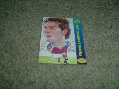 Frank Lampard Jnr - West Ham United - Signed Pro Match 98 Trade Card