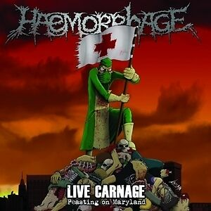 Live Carnage: Feasting On Maryland - HAEMORRHAGE [LP]