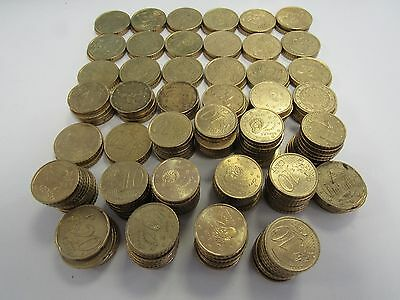 40 Euros in 10 20 & 50 Cent Coins - Holiday Spending Money / Change - MAG P25